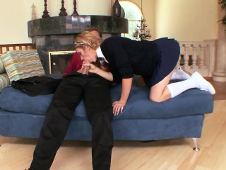 sexy blonde schoolgirl, jessica young, does it with ...