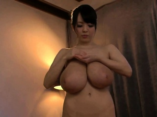 japanese with huge tits giving a massage