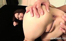 Ass rimming and fingers