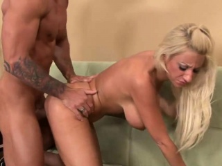 Busty Blonde Wants This Stiff Cock