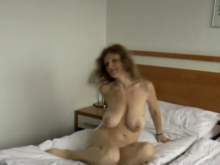 Brunette Milf With Hanging Breasts