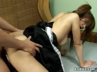 Porno Video of Ai Kurosawa At Her Teacher's Pet Moving Her Ass To Pass The Year