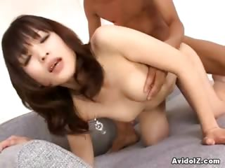 Porno Video of Slim Japanese Cunthole Going For Huge Dick