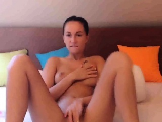 Beautiful Teen Fingering And Playing Her Tight Pink Pussy
