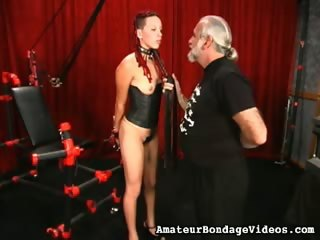 Porn Tube of Teenage Chick Loves Bdsm