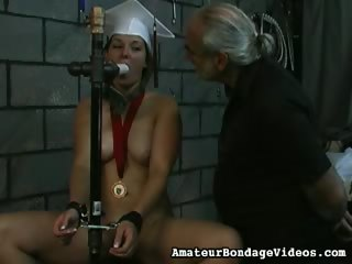 Porn Tube of Angelina Loves To Play Bdsm Games