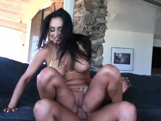 Brunette girl craves for a big cock