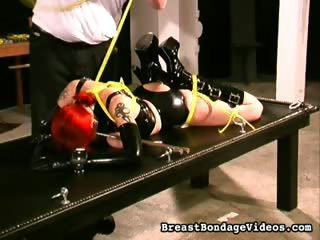 Porn Tube of Hardcore Nipple Torture