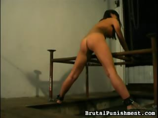 Porno Video of Chained And Trained