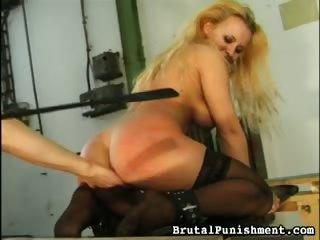 Porn Tube of Bound Boobies, Demanding Dong