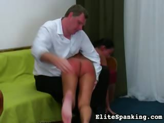 Porno Video of Hot German Slut Gets Bent Over And Spanked