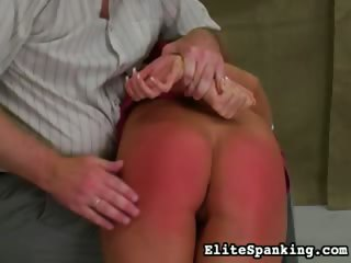 Porn Tube of Bent Over And Spanked