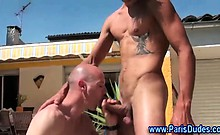 French amateur gays sucking cock