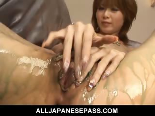 Porno Video of Gorgeous Rika Sakurai With A Mouthful Of Hot Cum