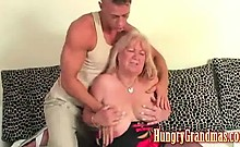 Big Tit Granny Getting Some