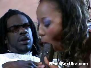 Porno Video of Petite Ebony Swallowing A Big Cock