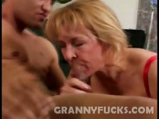 Porn Tube of Hard Knobbed Granny Sierra