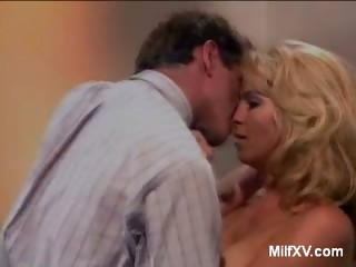 Porno Video of Pretty Blonde Milf Does Striptease
