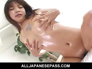 Porn Tube of Cute Japanese Doll Saki Ogasawara Fucks Herself