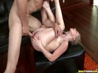 Porno Video of Sydney Rides A Huge Cock.