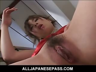 Porno Video of Sexy Japanese Slut Fingers And Toys Her Pussy On The Steps Squirting Her Juice All Over