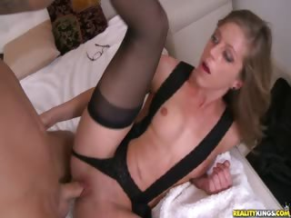 Porno Video of Katyln Getting Fucking Missionary Style While Getting Back At Her Husand!