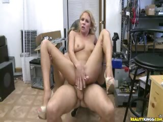 Sex Movie of Tailor Rides That Cock And Gets Her Pussy Pounded.