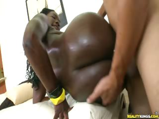Porno Video of Chrystine Gets It Doggy Style...the Lovely Rump Gets Pounded.