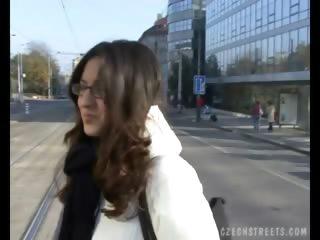 Porno Video of Czech Streets - Petra