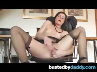 Porn Tube of Sexy Lingerie Secretary