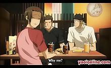 Hottie hentai gay couple having great sex