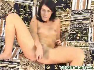 Porn Tube of Innocent Cute Juli Shows Off Her Shaved Pussy