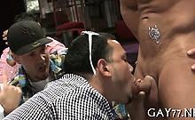 Horny gay boyz at party