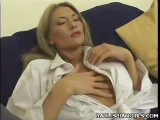 Porno Video of Lesbian Tit Tease