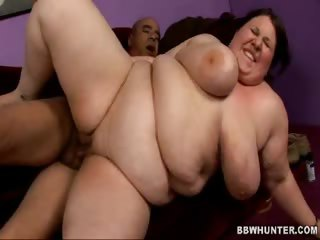 Porn Tube of Bbw Jelli Takes Tit Glazing