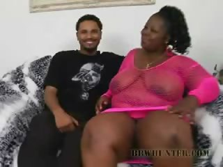 Porn Tube of Black Bbw Subrina Gets It Hard