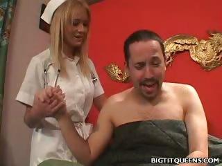 Porno Video of Big Tit Nurse Fucked