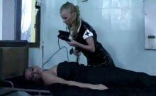 Blonde Nurses Share Cock