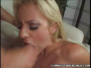Porno Video of Angela Blonde Cumshot
