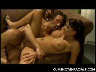 Porn Tube of Cum Glazed Eva