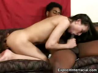 Porno Video of Cytheria Mouthing A Black Cock