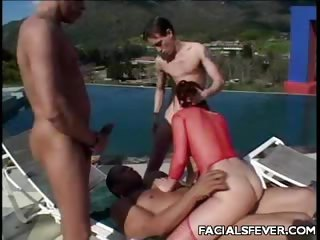 Porno Video of Nasty Outdoor Cum Facial