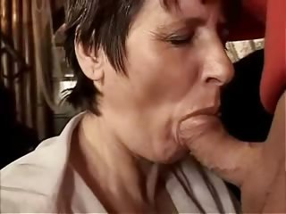 Porno Video of Mouth Fucked Mature Marge
