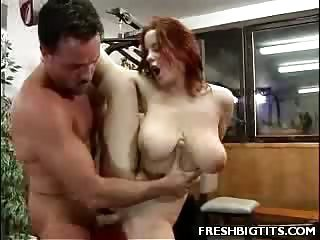 Sex Movie of Big Tit Lisa Titty Fucking