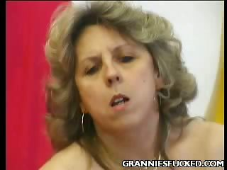 Porno Video of Hot Granny Dorothy