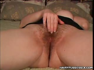 Porno Video of Plumper Hirsute Drilled