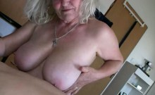 Mature and old Granny