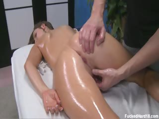 Porno Video of Lily Seduced And Fucked Hard After Her Free Massage!