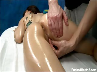 Porno Video of Alexa Seduced And Fucked Hard By Her Massage Therapist