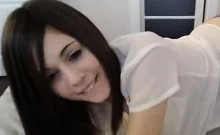 Sexy Teen Webcam Girl Rubs Her Pussy 1